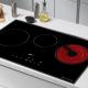 Bếp từ đôi hồng ngoại 3 lò cảm ứng KAFF KF-IC3801-2