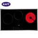 Bếp từ đôi hồng ngoại 3 lò cảm ứng KAFF KF-IC5801SB-3