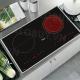 Bếp từ đôi hồng ngoại cảm ứng CANZY CZ-65BS-4