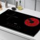 Bếp từ đôi hồng ngoại cảm ứng KAFF HYBRID KF-IH68N-4