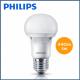 Bộ 3 Bóng đèn Philips LED Ecobright 5W 6500K E27 A60 - Ánh sáng trắng-1