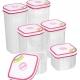 Bộ 6 hộp nhựa Homio PL 13-003 -2