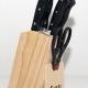 Bộ dao kéo làm bếp 7 món Super Sharp-1