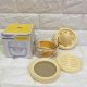 Bộ dụng cụ vắt cam và chế biến đồ ăn dặm cho bé Glasslock GL-1232-3