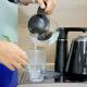 Cây nước nóng lạnh kết hợp bàn pha trà, cafe FujiE WD1170C-4