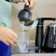 Cây nước nóng lạnh kết hợp bàn pha trà, cafe FujiE WD1170C-3