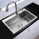 Chậu rửa bát inox 304 KAFF KF-HM6045-3