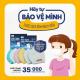 Khẩu trang kháng khuẩn NANO bạc HANVICO KIDS trẻ em  (Bộ 2 chiếc)-5