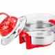 Lò nướng thủy tinh Tiross TS967 - Đỏ-1