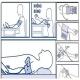 Máy đo huyết áp bắp tay Citizen CH-437C/CS-4