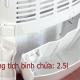 Máy hút ẩm FujiE HM-614EB-2