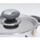 Nồi inox 3 đáy quai silicone 16cm Fivestar N16-3DC-3