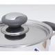 Nồi inox 3 đáy quai silicone 20cm Fivestar N20-3DC-1