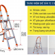 Thang nhôm ghế 3 bậc xếp gọn Advindeq ADS703-2