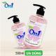 Thùng Nước Rửa Tay sạch khuẩn On1 Hương Fresh Sakura 500ml-1