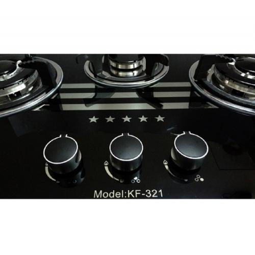 Bếp gas âm 3 lò Kaff KF-321