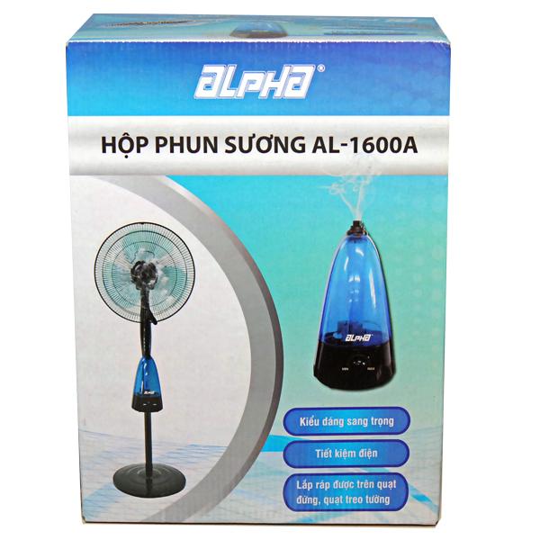 Hộp phun sương tạo ẩm làm mát không khí Alpha AL-1600A